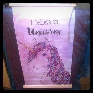 Accessories - Large unicorn banner